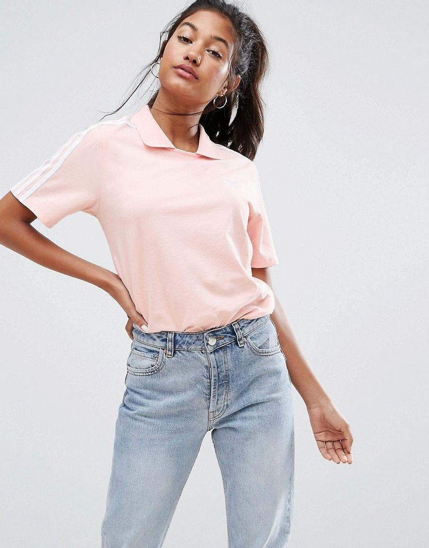 adidas originals tshirt rosa