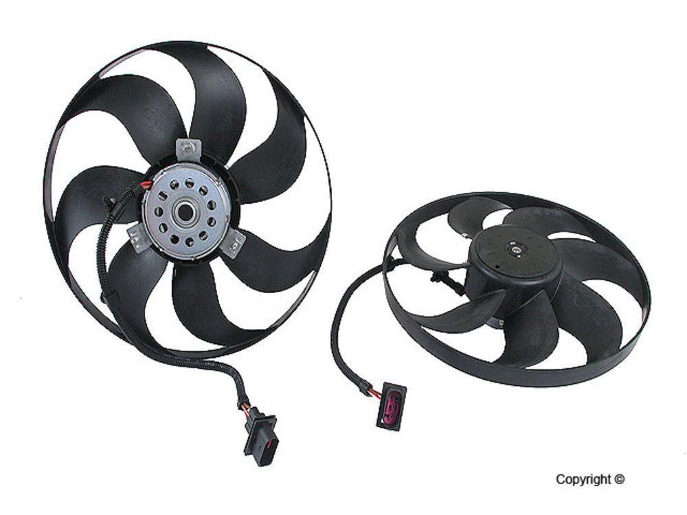 Engine Cooling Fan Motor Temic Left Wd Express Fits 98 06 Vw Beetle Volkswagen Beetle Fan Motor Volkswagen