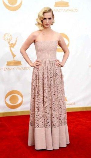 Emmys 2013 Red Carpet: January Jones
