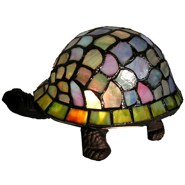 Tiffany-style Turtle Accent L& - Overstock™ Shopping - Great Deals on Warehouse of Tiffany Tiffany Style Lighting  sc 1 st  Pinterest & Turtle Accent Lamp Tiffany-style | Accent Lamps | Pinterest