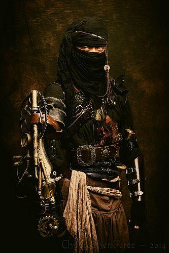 Ninja out of the Age of Steam Ninja wallpaper