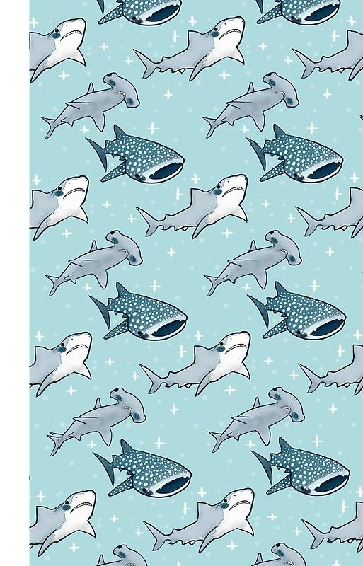 Shark Pattern Iphone Case Cover With Images Cute Wallpaper Backgrounds Shark Pattern Iphone Wallpaper Pattern