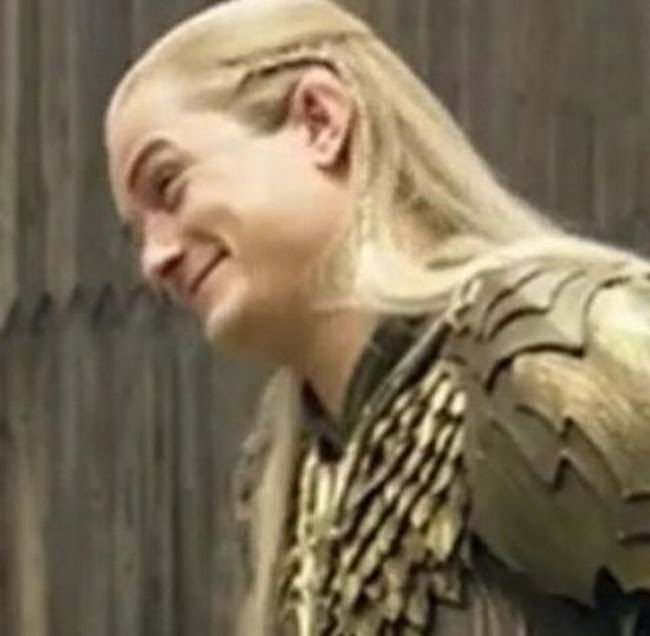 Legolas Weird Faces 8