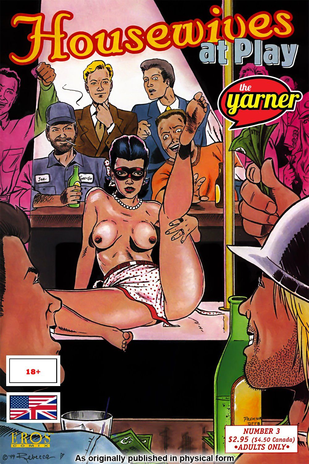 The Yarner - Comic - Housewives at Play #3