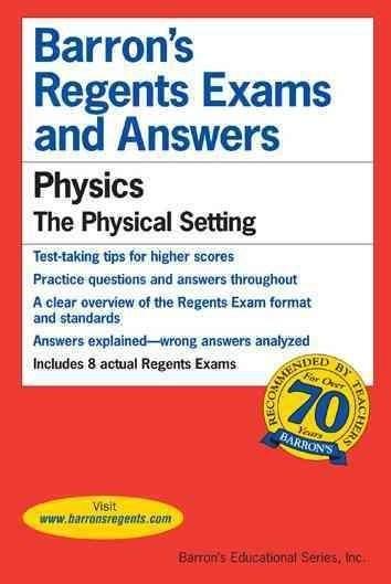 Barron's Regents Exams and Answers: Physics