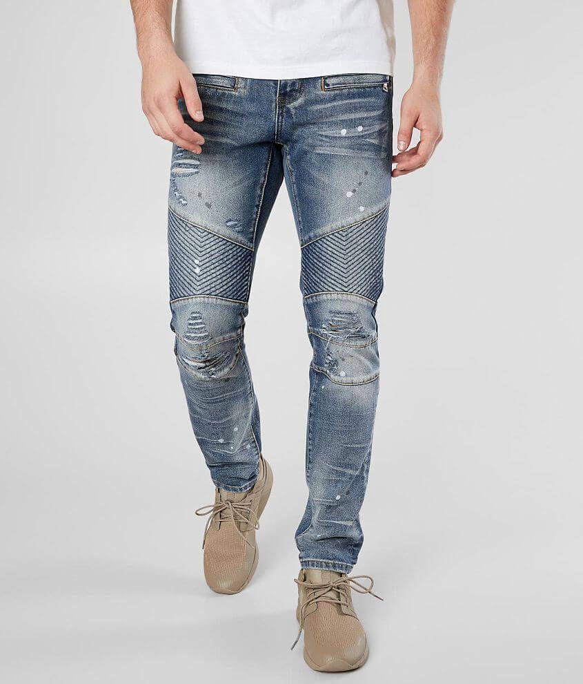 8559fc0e2013 Crysp Denim Changall Moto Skinny Stretch Jean - Men's in 2019 ...