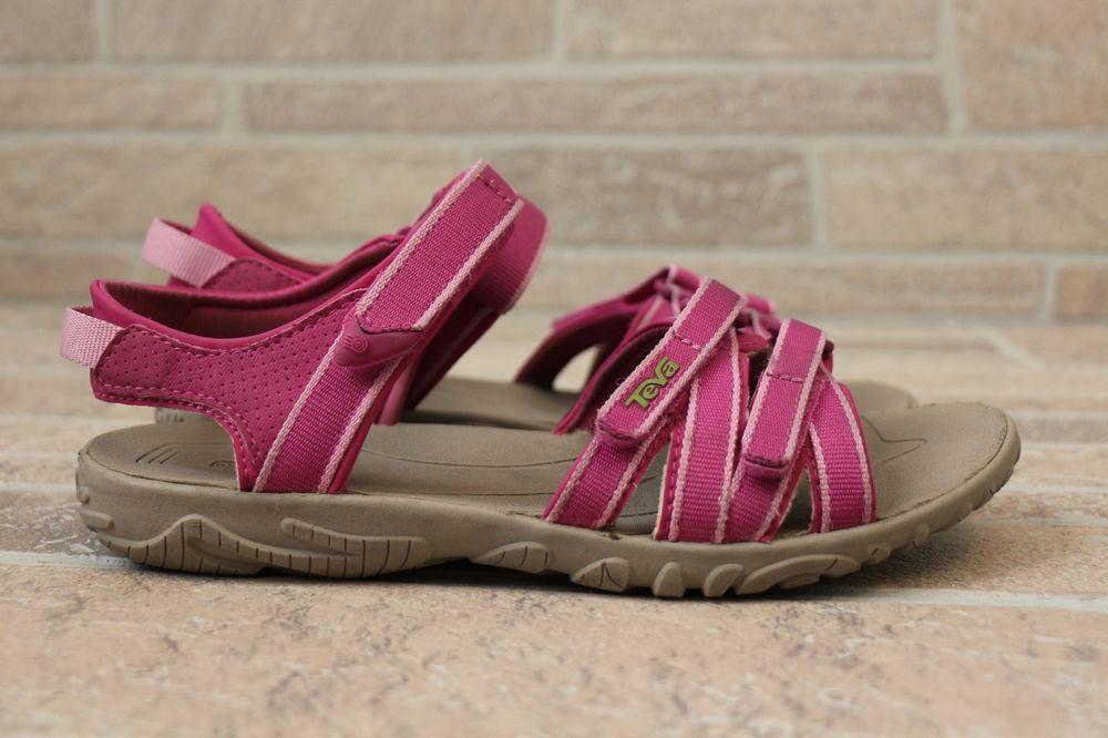149ad0c84 Girls Teva Tirra Sandals Youth Kids 5 Womens 6.5 Cactus Flower Pink Sport  Casual  Teva  SportSandals