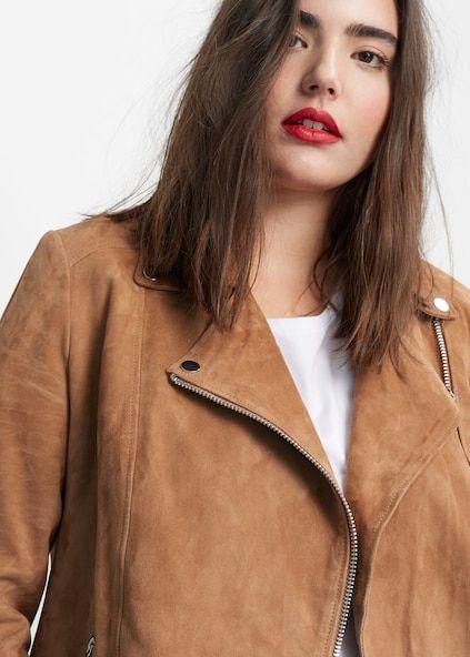 En Veste Femme Élégants Daim Taille – Vêtements Modernes Grande dqqvrwxT