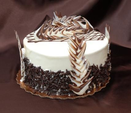Chocolate decorations for cakes cake decorating for Chocolat decoration