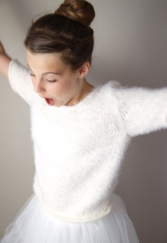 Photo of Bride Sweater JO the fluffy bridal jacket for your wedding