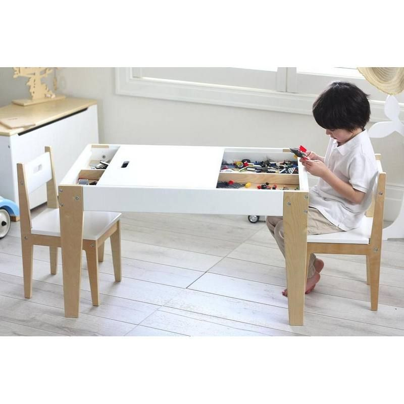 Benji Activity Table & 2 Chair Set | Playrooms, Contemporary and Storage