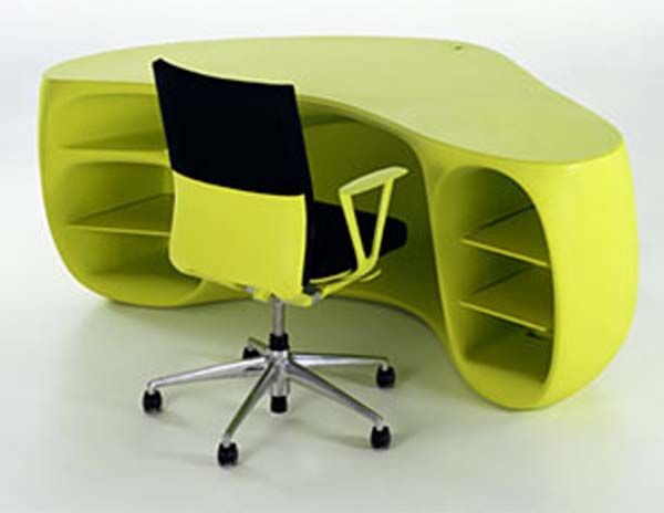 2 baobab-desk by philippe stark for vitra - cool desks