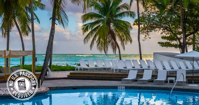 El San Juan Hotel Hilton Is An Isla Verde With Its Own Nightlife Rooms From 144 Per Night Cool Pools Pinterest