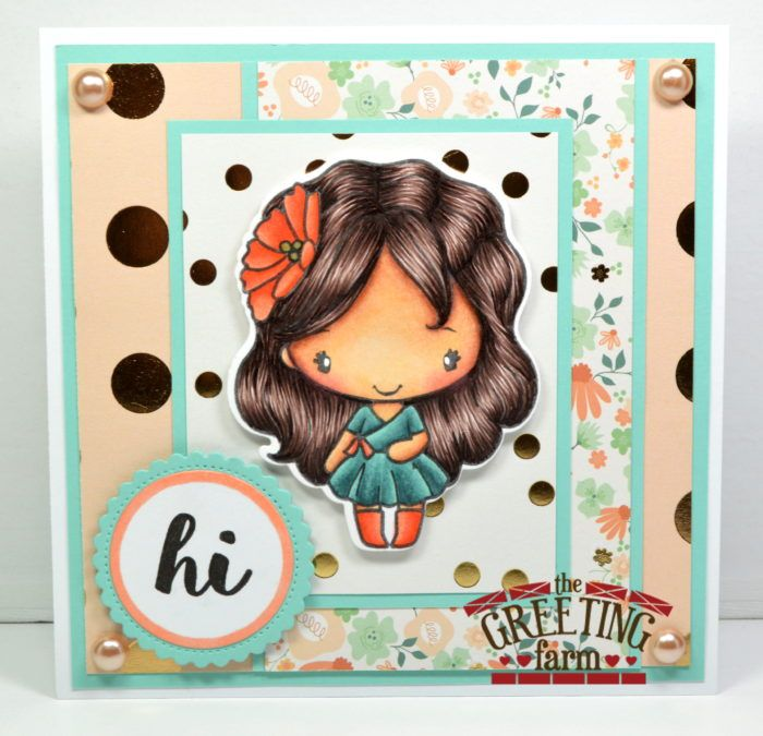 Stamp feature hi anya cardmaking farming and stamps the greeting farm clear stamps for crafting m4hsunfo