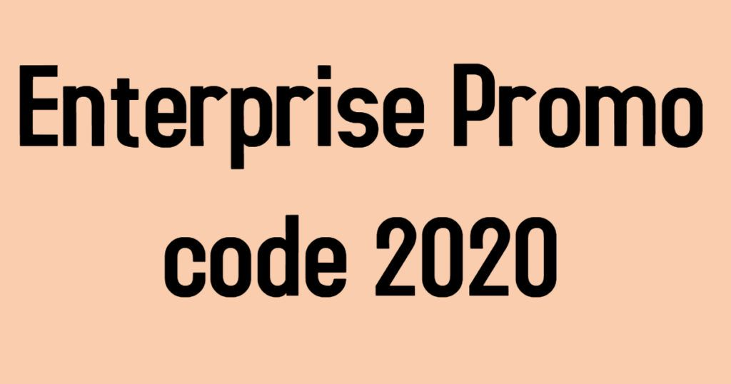 100 Working Enterprise Corporate Code April 2020 Coding Promo Codes Enterprise