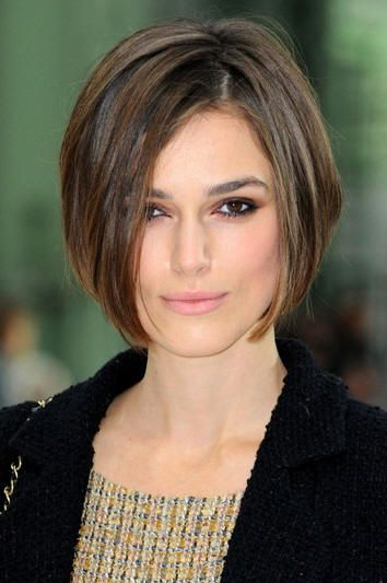 Keira Knightley in Chanel Fashion Show | Heart shape face, Heart ...
