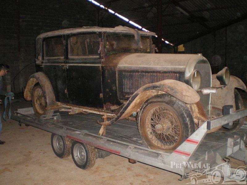Hotchkiss AM80 berline 1931 for sale | Voitures sorties de grange ...
