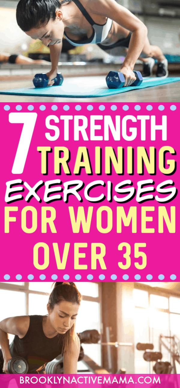 7 Best Strength Training Exercises for Women Over 35