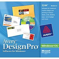 Avery Designpro Is Design Software That Gives You Flexibility In Creating And Printing Labels Greeting Card Printing Labels How To Make Labels Software Design