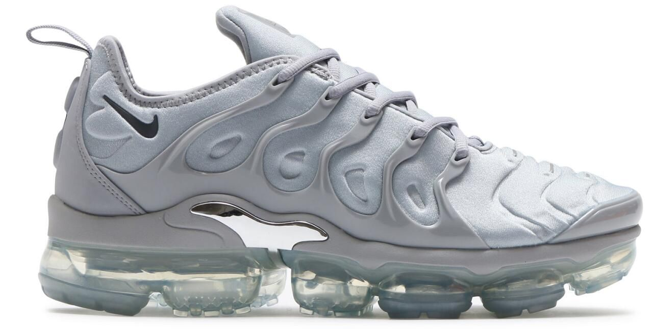 07bf68cd71a High Quality Nike Air Vapormax Plus TN 924453 005 Wolf Grey Dark Grey  Metallic Silver On
