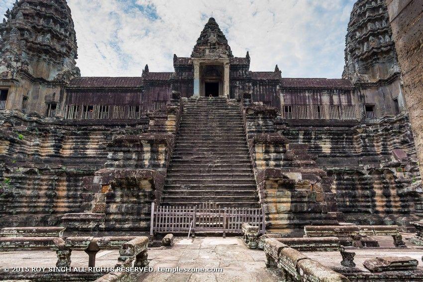 Angkor Wat Temple 029  Angkor, Angkor Wat, Temple-6192