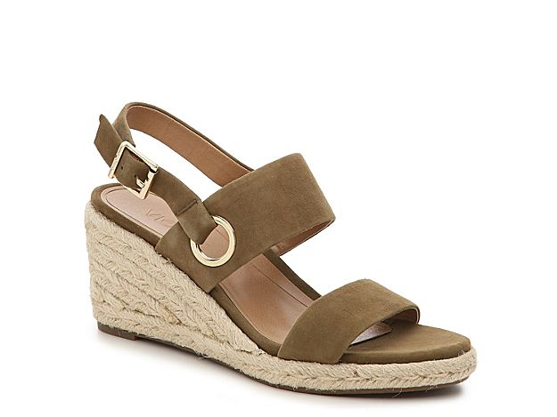 8c57e9e1f1 Shoes, Boots, Sandals, Handbags, Free Shipping! Women Vero Espadrille Wedge  Sandal -Olive Green Suede