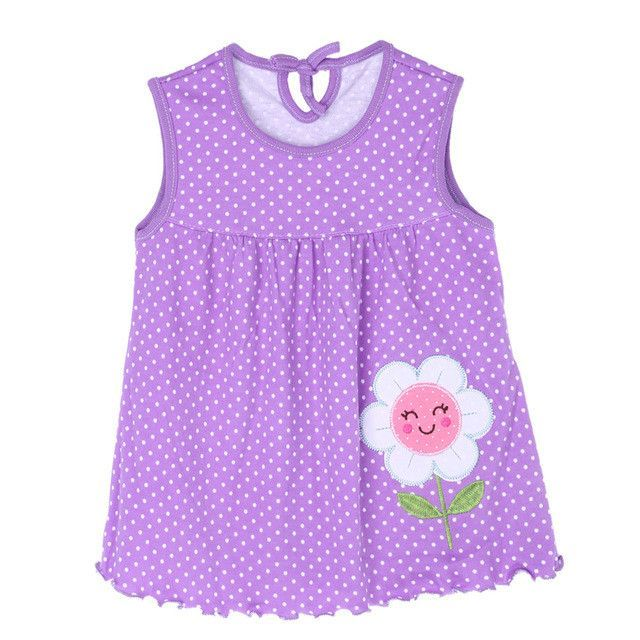 Hot Lovely 0 2y New Baby Girl Clothes Dress Fashion Pure Cotton