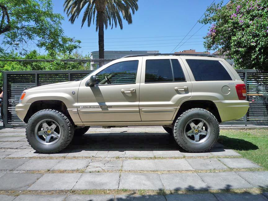 Jeep Wj Grand Cherokee Lift Kit Looks Like 3 Lift With 31s