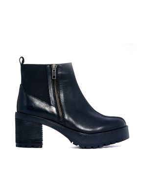 ASOS - RADAR - Chelsea Leather Ankle Boots