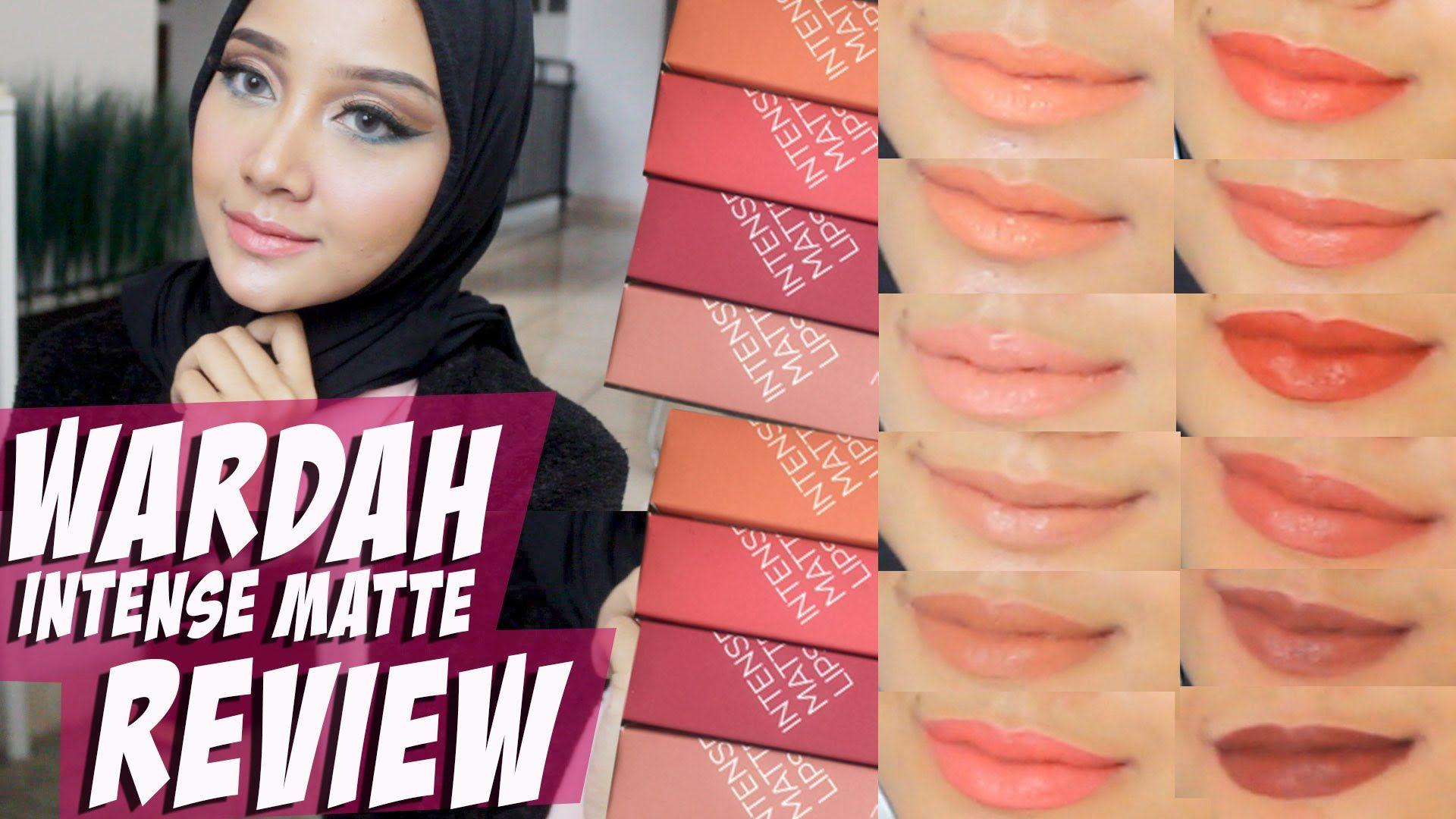 Tes Ketahanan Review Dan Swatch Wardah Intense Matte Lipstick Lipcream Linda