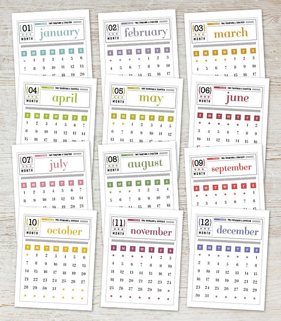 picture regarding Printable Mini Calendar titled 2019 mini calendar printable -