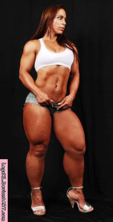 Muscle women escort
