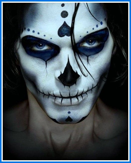 day of the dead mens makeup google search day of the dead maquillage halloween maquillage. Black Bedroom Furniture Sets. Home Design Ideas