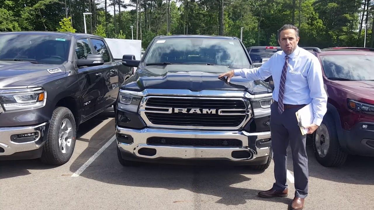 Latest Dodge RAM 2019 All New Ram Lease Special 11798