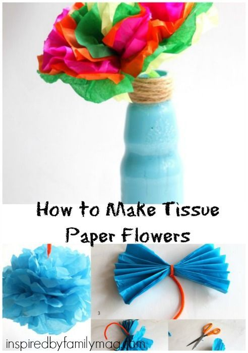 How to make tissue paper flowers easy craft ideas for kids how to make tissue paper flowers so easy to make and perfect for hispanic heritage month or cinco de mayo craft for the kids mightylinksfo