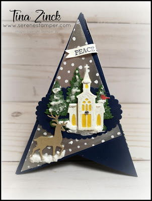 """The Serene Stamper """"Teepee"""" Fun Fold Cards VIDEO! (2020"""