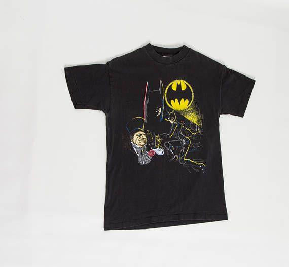 90s Batman T Shirt DC Comics Returns With Catwoman And Penguin