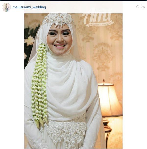 9 Model Hijab Menutup Dada Pilihan Untuk Pesta Pernikahanmu Pengantin Wanita Pengantin Gaun Perkawinan