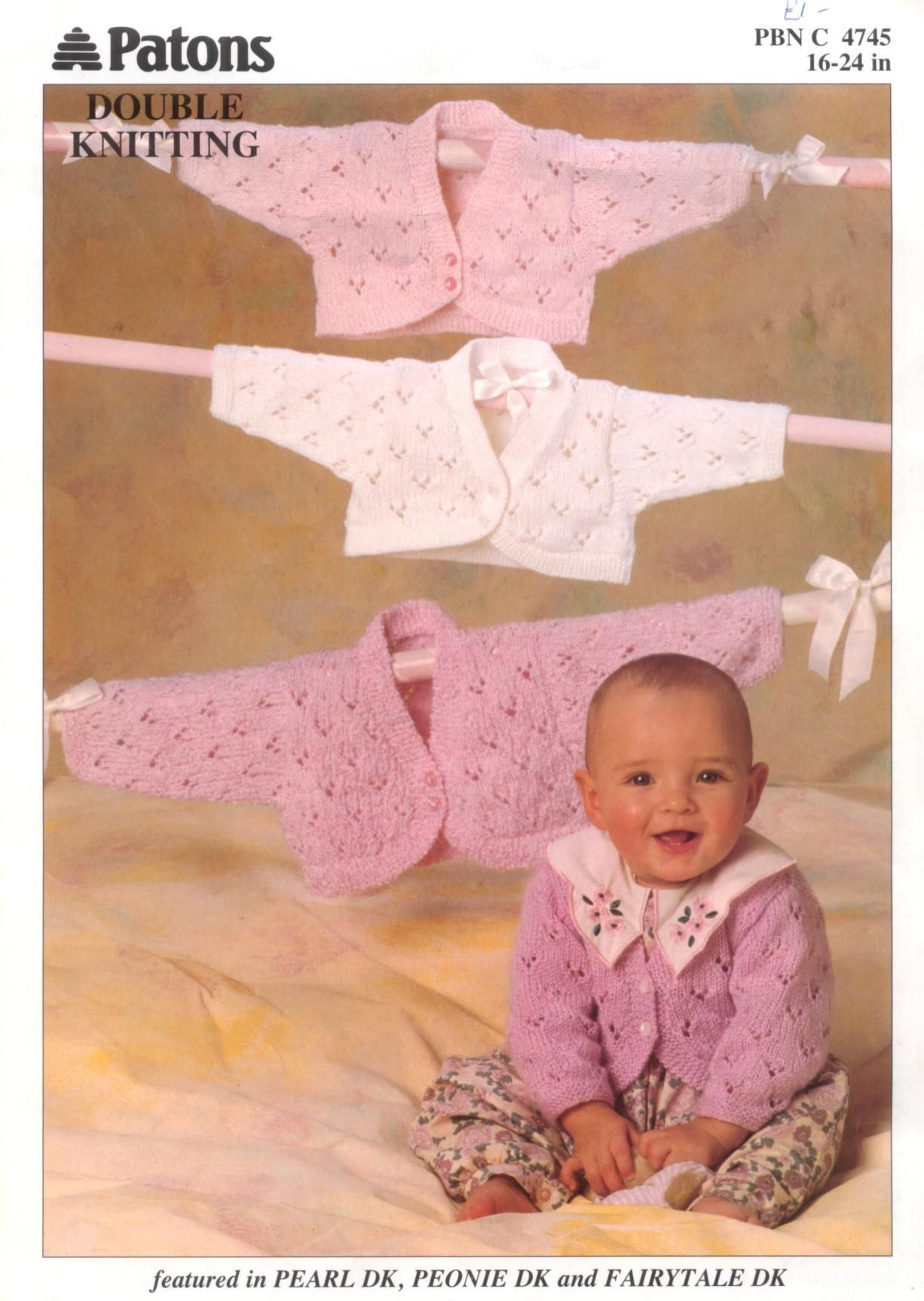 Patons 4745 Bolero | Patterns and Ideas for Little People ...