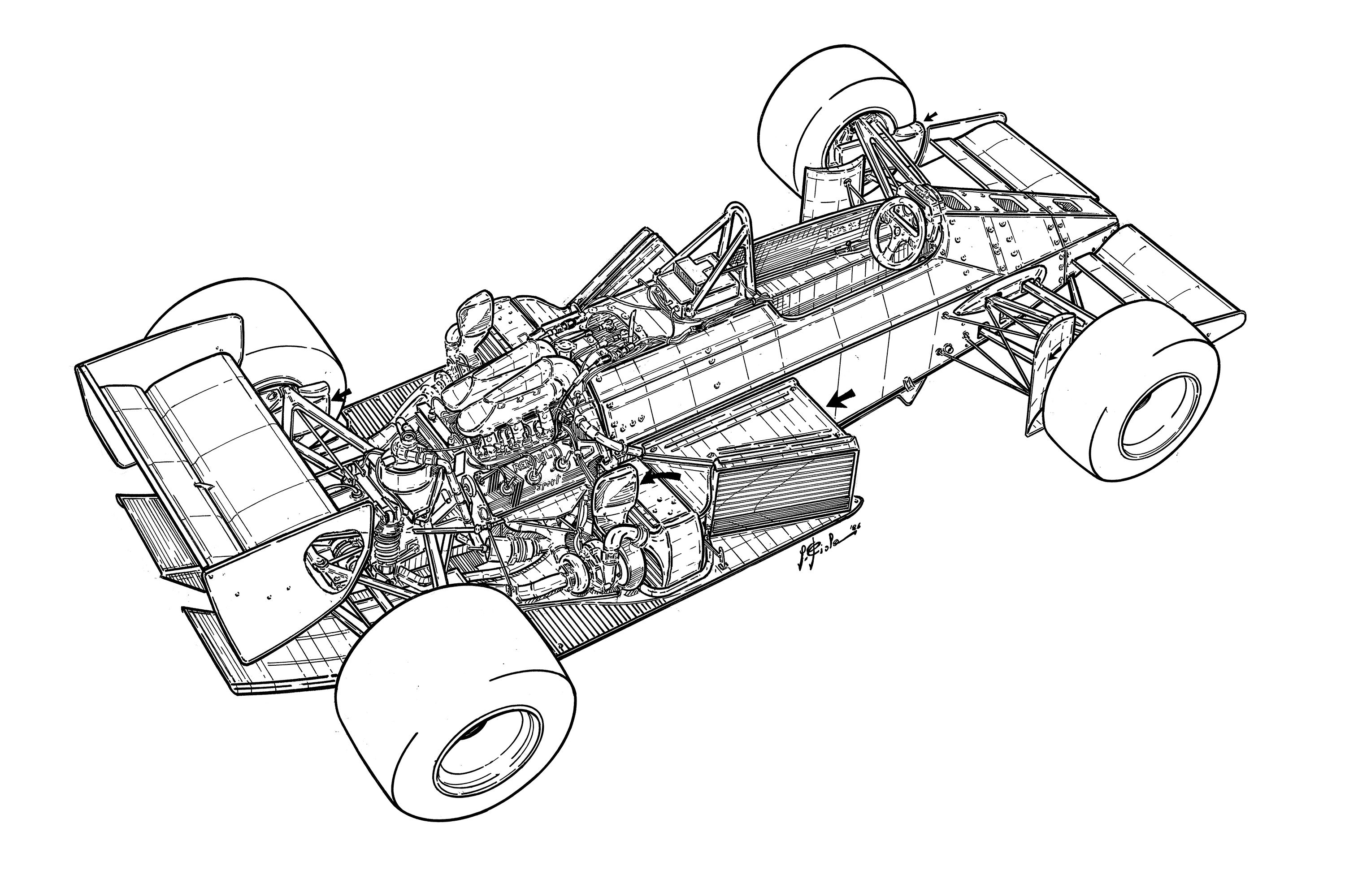 The Lotus 98t Was The Car That Team Lotus Ran On The