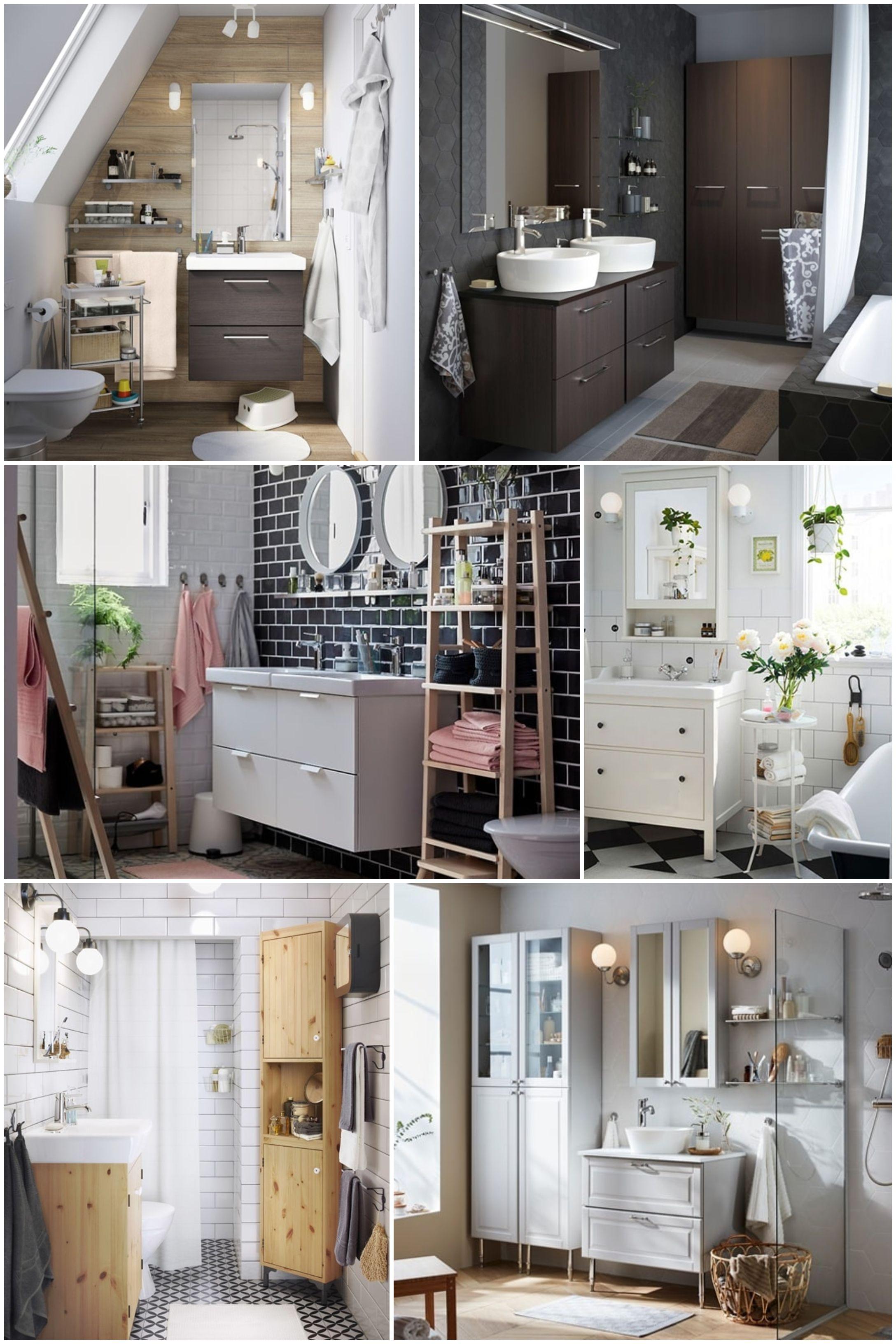 ▷ Cómo elegir los muebles de baño. Muebles de baño IKEA.   Muebles ...