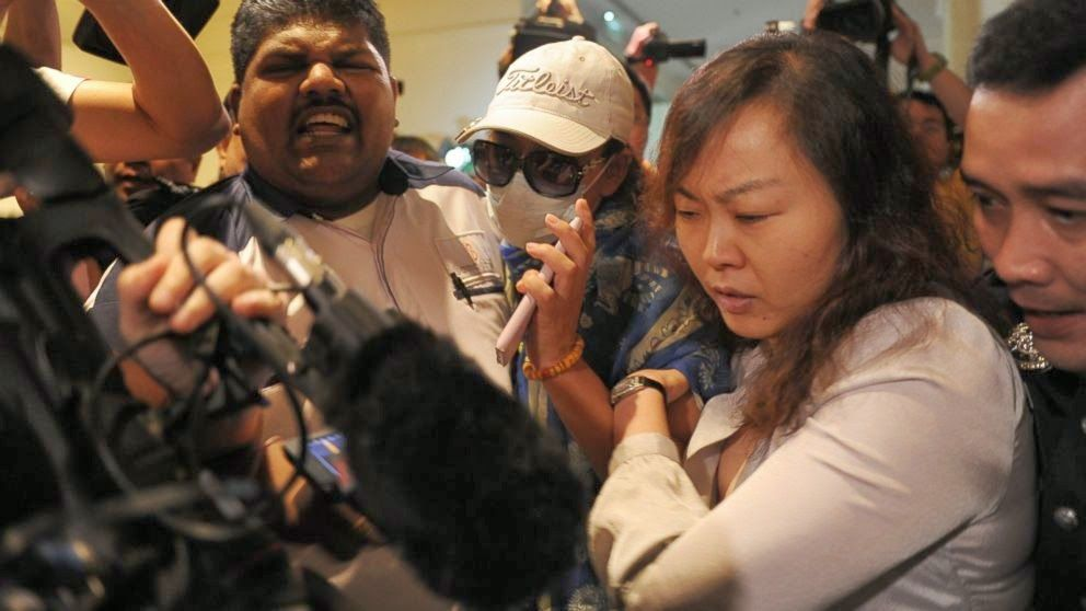 Topten Naija: Families of Passengers on Missing Malaysian Airlin...