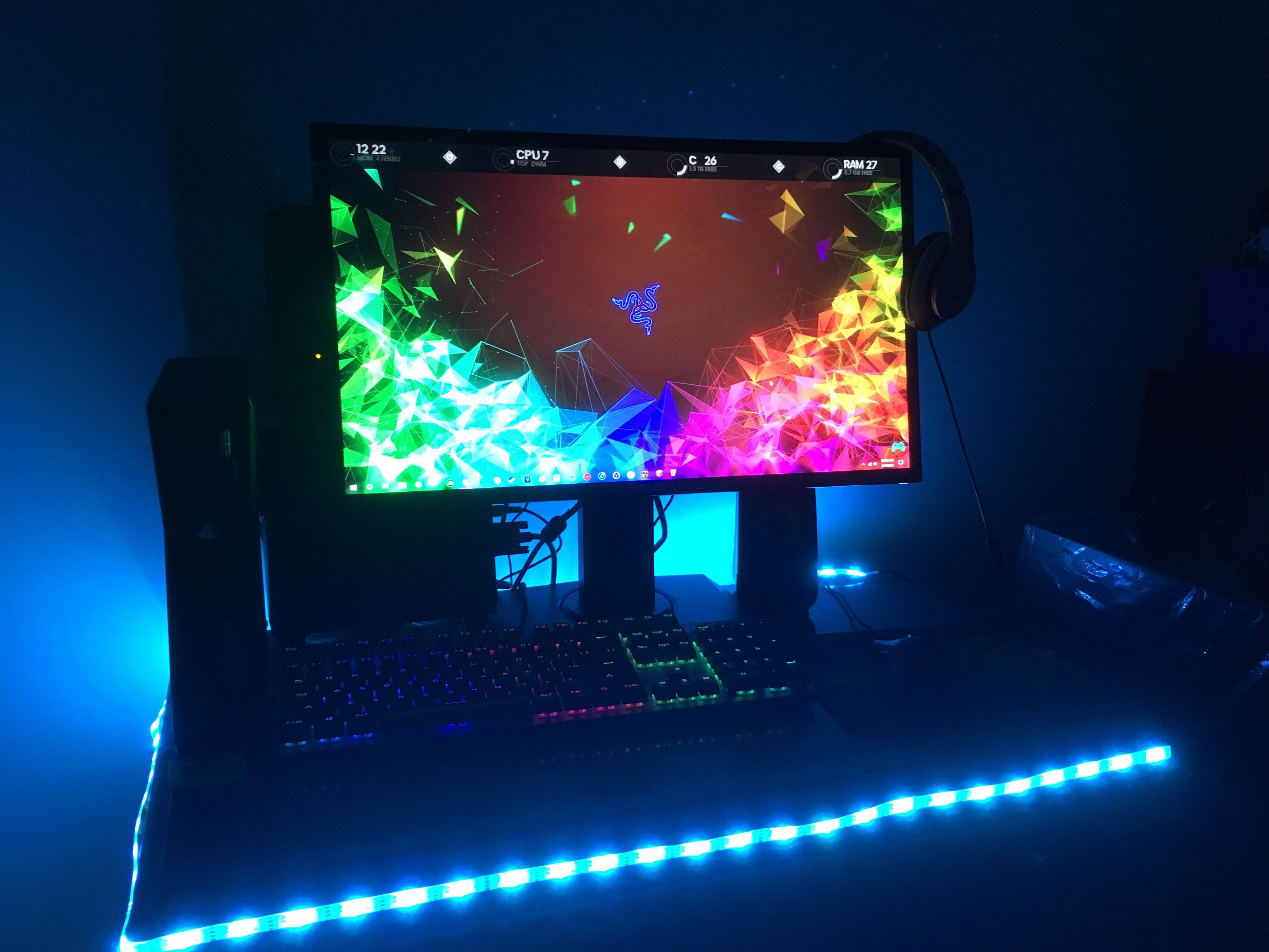 AzzA gaming computer. Gaming desktop, Gaming computer