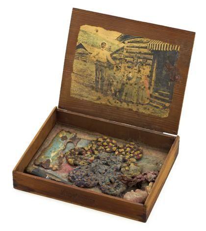 Decorative box by Betye Saar