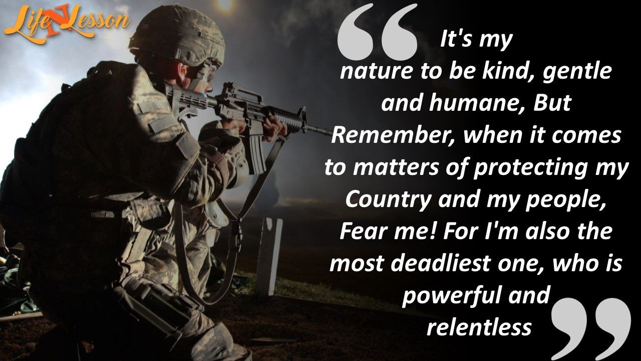 Military Motivational Quotes These 11 Quotes On Indian Army Fill Your Heart With Pride  Indian