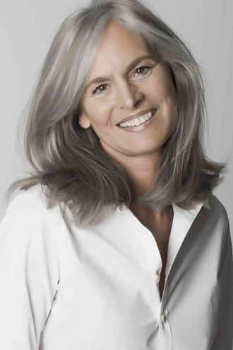 Ingrid Becker Hair Styles Grey Hair Styles For Women Beautiful Gray Hair