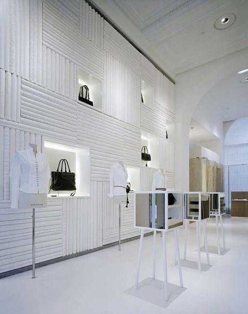 Retail design inspiration clean white design concept for Inspiration concept interior design llc