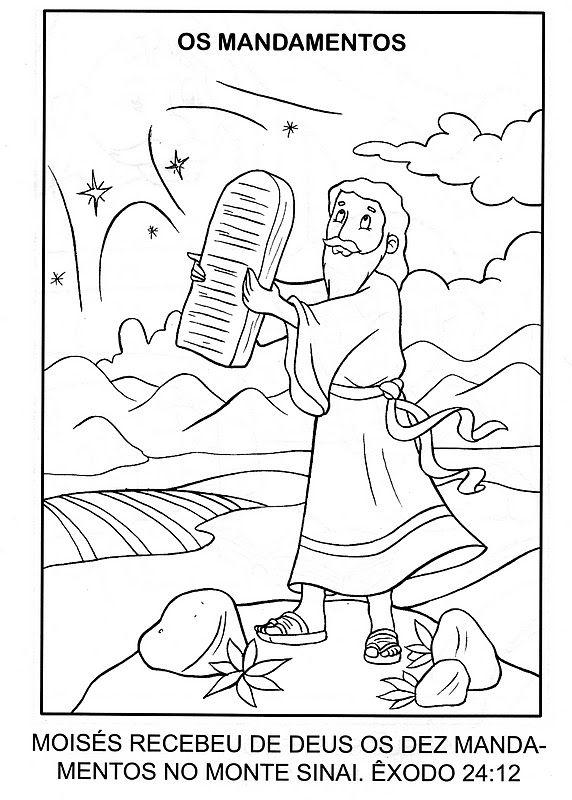 Mozes en de 10 geboden | Bijbel: Mozes voor kleuters / Bible: Moses ...