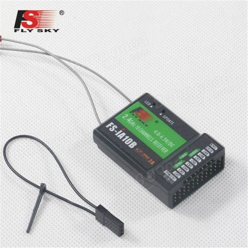 Flysky 2 4G 10CH FS iA10B Receiver PPM Output With iBus Port
