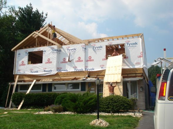 2nd story addition to ranch floor addition we recently for Putting an addition on your house
